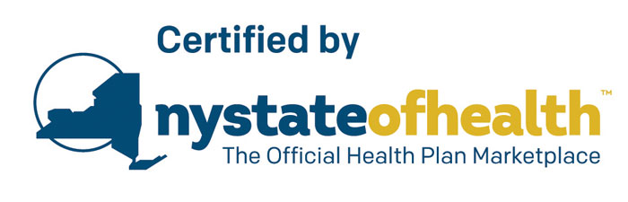 Certified by NY State of Health Plan Marketplace
